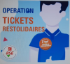 Tickets solidaires